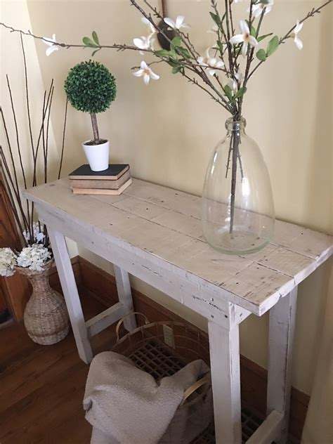 farmhouse entry table entry table wood table entryway table entry furniture