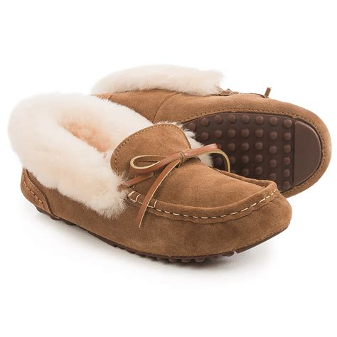 moccasin slippers for lamo footwear mist moccasin slippers for save 73