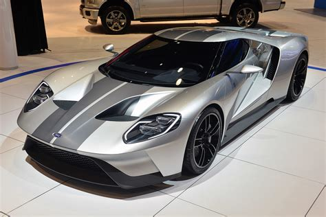 ford gt silver 2017 ford gt silver 2 images chicago auto show silver
