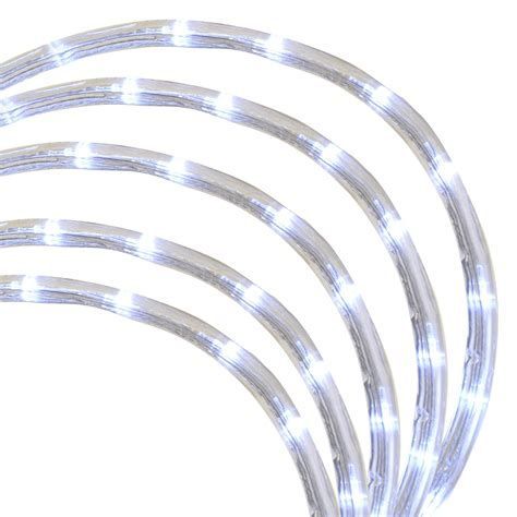 white cord string of chasing lights 6m superbright white led chasing brilliant rope lights new ebay