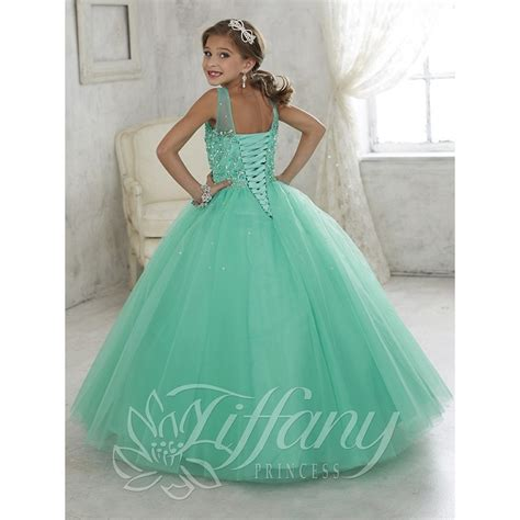 Tiffany Princess 13442 Pageant Dress   MadameBridal.com