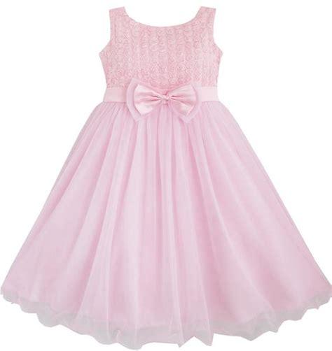 24440 Redwhiteyellow Roses Slim Dress dress flower pink wedding bridesmaid
