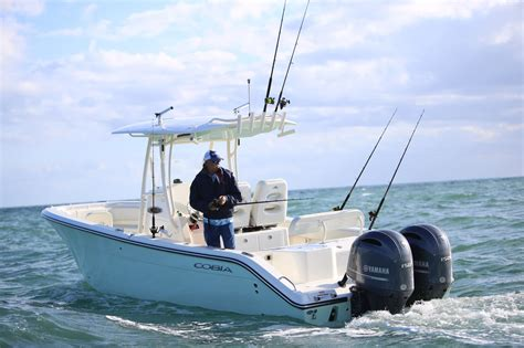 how much does a 16 foot fiberglass boat weight cobia 261 center console outermost harbor marine