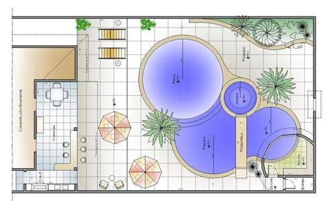 Programa Para Fazer Planta Baixa projetos de piscinas planta baixa decorando casas