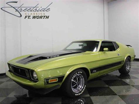 73 mach 1 mustang for sale 1973 ford mustang mach 1 for sale classiccars cc