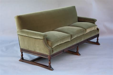 spanish sofa spanish revival carved walnut sofa at 1stdibs