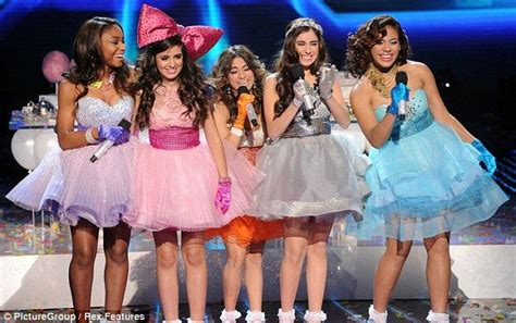 x factor group fifth harmony attempts to make a name for x factor runners up fifth harmony overjoyed as simon