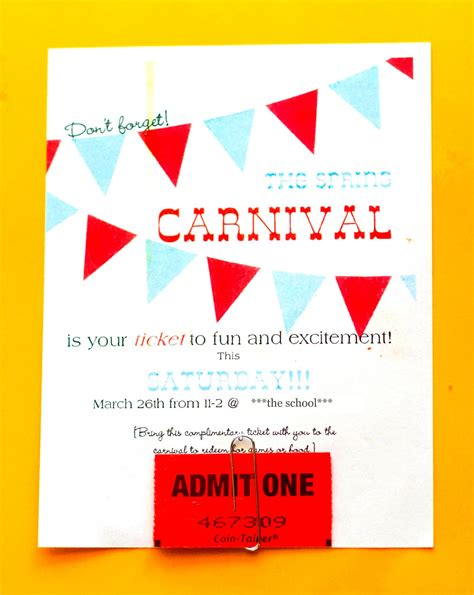 carnival posters template carnival advertising and other craziness my insanity