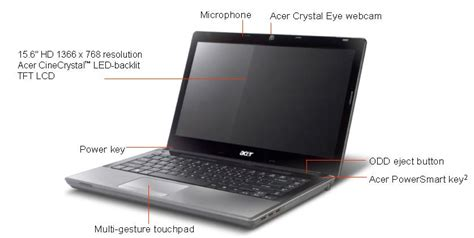 Notebook Acer Timeline X acer aspire timeline x 5820t 15 6 quot led lcd laptop 4gb 500gb intel i5 processor 430m