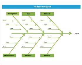 Fishbone Template Powerpoint by Sle Fishbone Diagram Template 12 Free Documents In