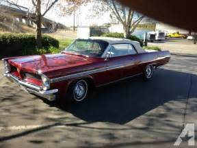 1963 Pontiac Bonneville Convertible 1963 Pontiac Bonneville Convertible For Sale In Sacramento California Classified