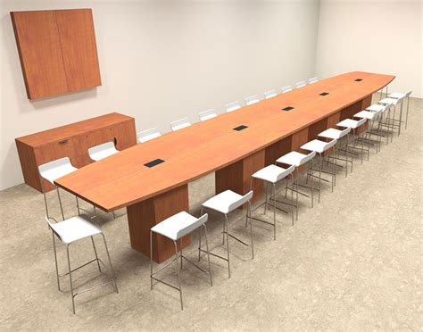 Bar Height Conference Table Boat Shape Counter Height 24 Conference Table Of Con Ct44