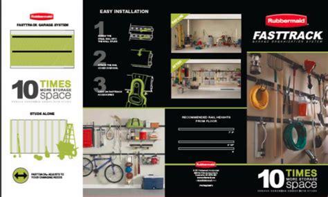 rubbermaid fasttrack garage organization system garage organization plan 187 lolly