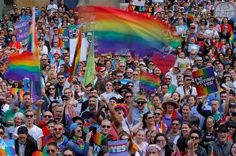 Australia Marriage Records Australia Marriage Rally Draws Record Crowd Ahead Of Postal Vote