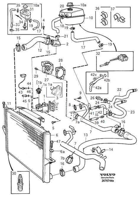 heater  cooling pipework layout volvo owners club