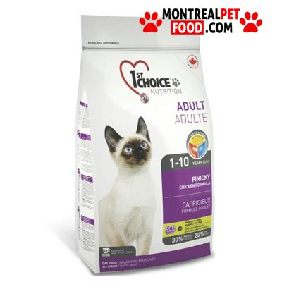 1st Choice 1 1st choice for cat finicky montreal pet food