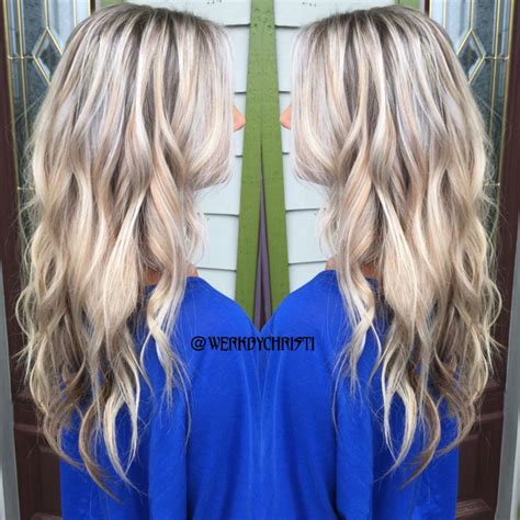 platinum silver blonde balayage 17 best images about my work on pinterest golden blonde