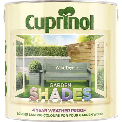 5 l shades cuprinol 2 5l garden shades thyme leekes