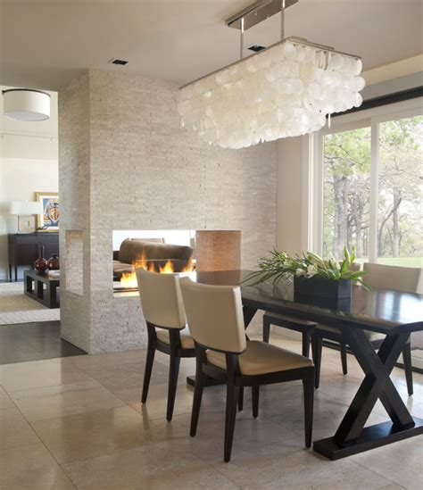 Contemporary Lighting Dining Room Denver Ranch Contemporary Dining Room Denver By D D Interiors Mikhail Dantes