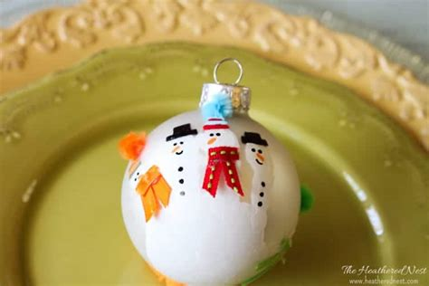 handprint ornament  diy christmas ornament ideas