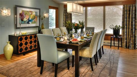 mid century modern dining room modern dining room minneapolis by letitia interior