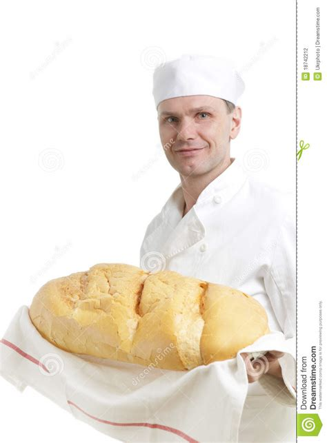 Bread Baker by Baker With Bread Stock Photography Image 18742212