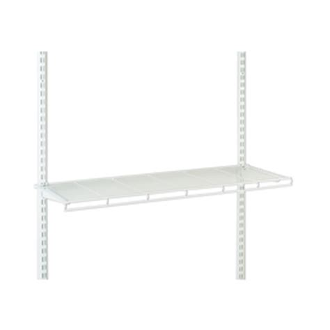 Closetmaid Wall Mounted Shelving Shop Closetmaid 36 In W X 3 In H X 12 25 In D Wire Wall
