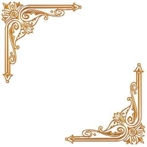 wedding border design gold 15 golden vintage frame border design images gold