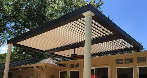 louvered pergola gallery