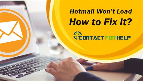 won t load hotmail won t load how to fix it instant customer support