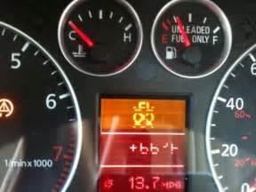 Audi Tt Brake System Warning Light Strange Warning Light Help Audiforums