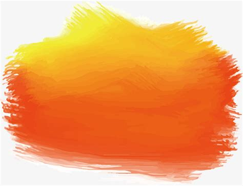 Chaolin Tinta Cair China Orange orange watercolor doodle vector png orange orange brushes png and vector for free