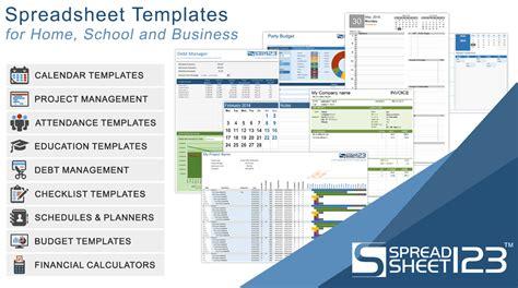 excel templates spreadsheets calendars  calculators