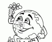cute earth coloring pages coloring pages best photos of earth pictures to print