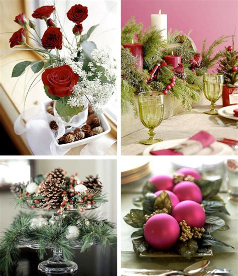 table decor ideas 50 great easy christmas centerpiece ideas digsdigs