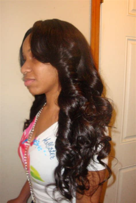 full sew in weave with side bangs places to visit full