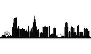 Skyline Silhouette City Skyline Silhouette Background Kid Decor