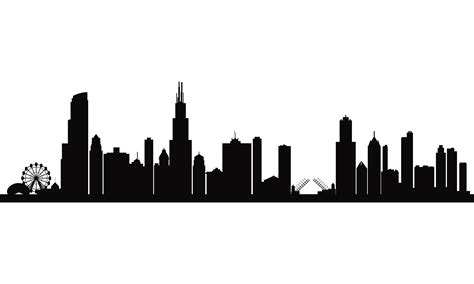 free city skyline silhouette download free clip art free