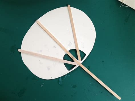How To Make A Japanese Paper Fan - fan japan japanese papercraft children