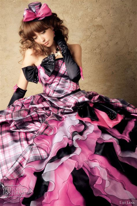 Pink And Black L pink and black wedding dresses beautiful scenery photography