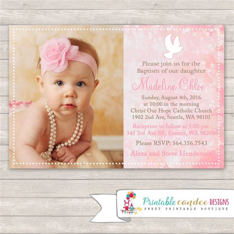 Baptism Invitations by Baptism Invitations Baptism Invitations Card