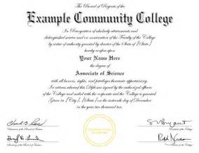 College Diploma Template by Diplomas College Replicas