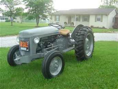 Used Farm Tractors For Sale 1951 Ferguson To30 2006 08