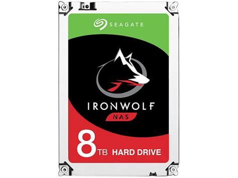 Seagate Ironwolf 8tb For Nas seagate ironwolf 8tb nas drive 7200 rpm 256mb cache