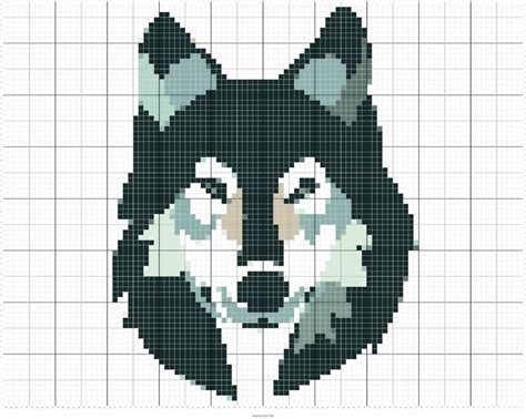 pattern maker cross stitch online 160 best wolves images on pinterest crossstitch punch