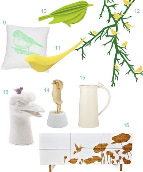 get the look 31 bird home accessories stylecarrot