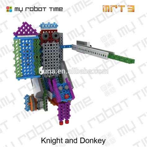 Block Science 3 In 1 custom mrt3 1 educational building blocks robots kits