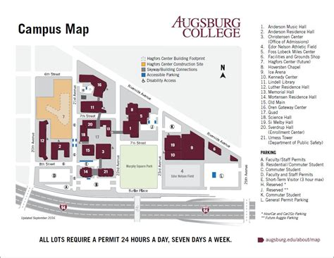 Augsburg College Rochester Mn Mba by Getting Here Homecoming Reunion Weekend Augsburg