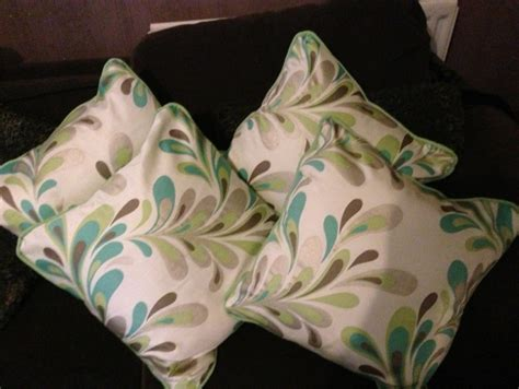 Double Piping Upholstery Mink Lime Amp Jade Sateen And Cotton Linen Blend
