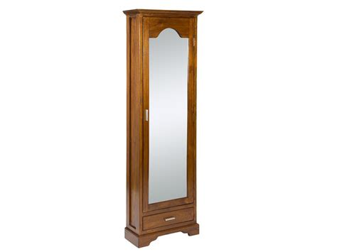 armario zapatero alto  estrecho  espejo  cajon colonial